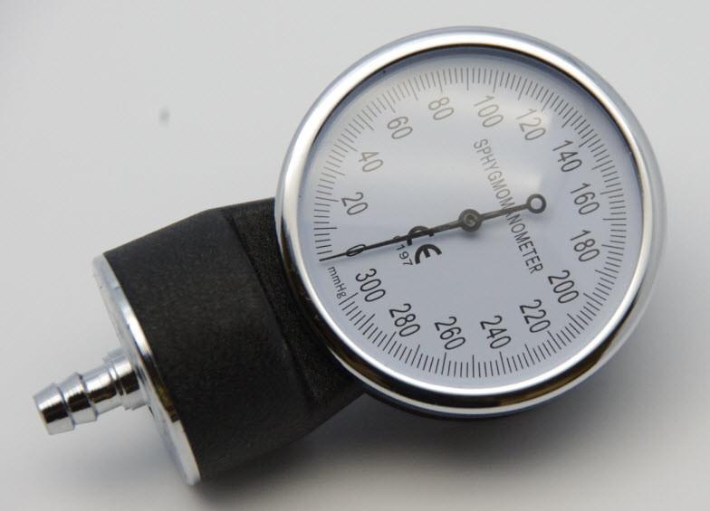 Gauge for Manual Blood Pressure Monitor Cuff ( Sphygamomanometer)