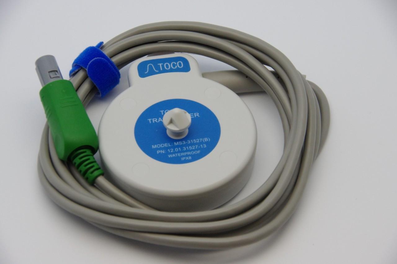TOCO probe for Edan cadence ,f6 , f9 fetal monitor , p/n MS3-31527-A1