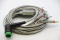 12 leads (10 WIRES) EKG/ ECG CABLE for LIFEPAK 12-15 MONITOR