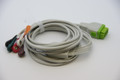 5 Leads ECG Cable For GE Marquette Eagle Dash Monitor w/ snap head