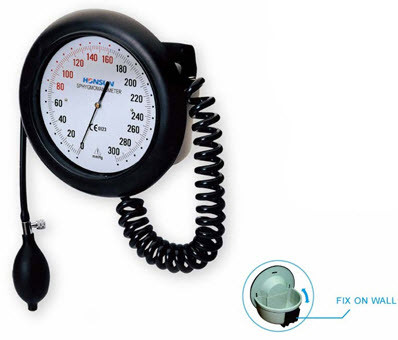 EastShore Wall Mount Round Dial Manual blood pressure monitor sphygmomanometer
