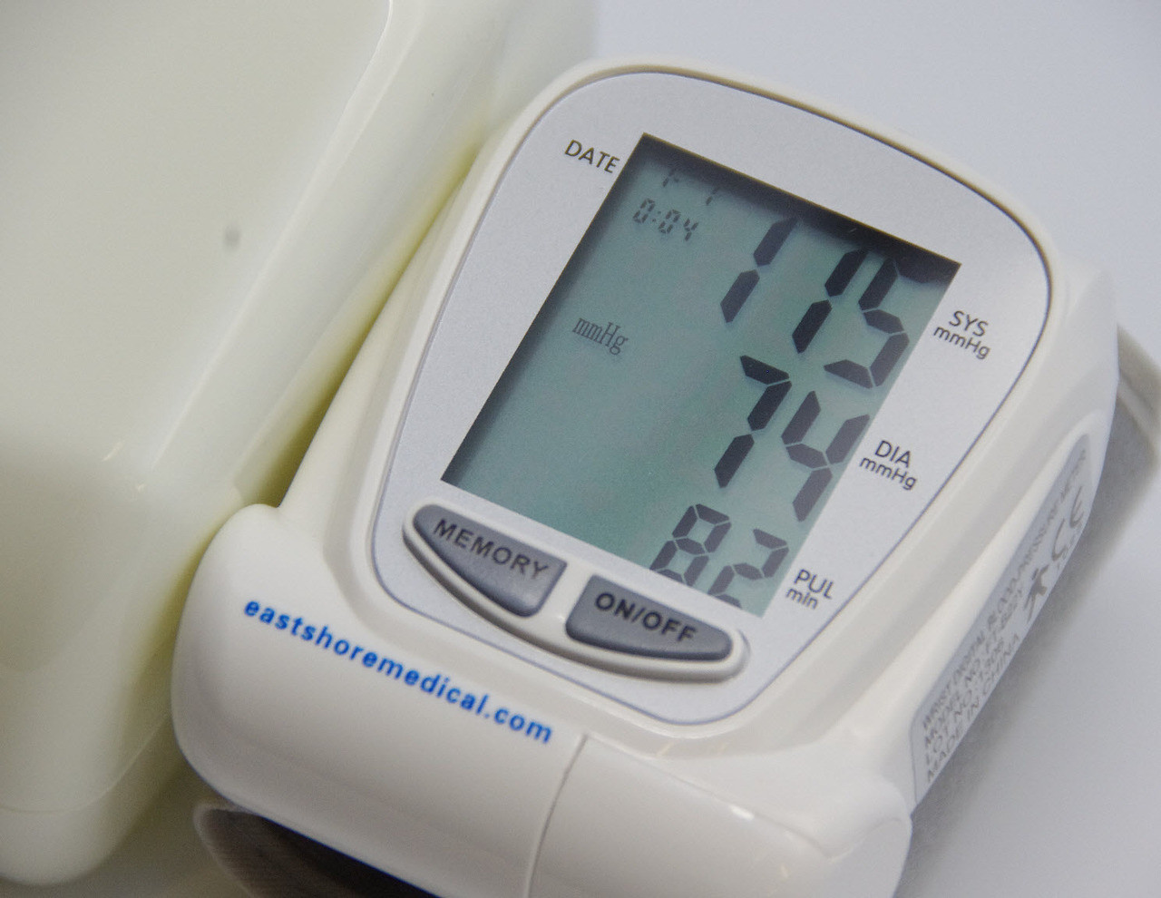 EastShore B22Y Wrist Blood Pressure Monitor 90 MEMORY FDA approved,