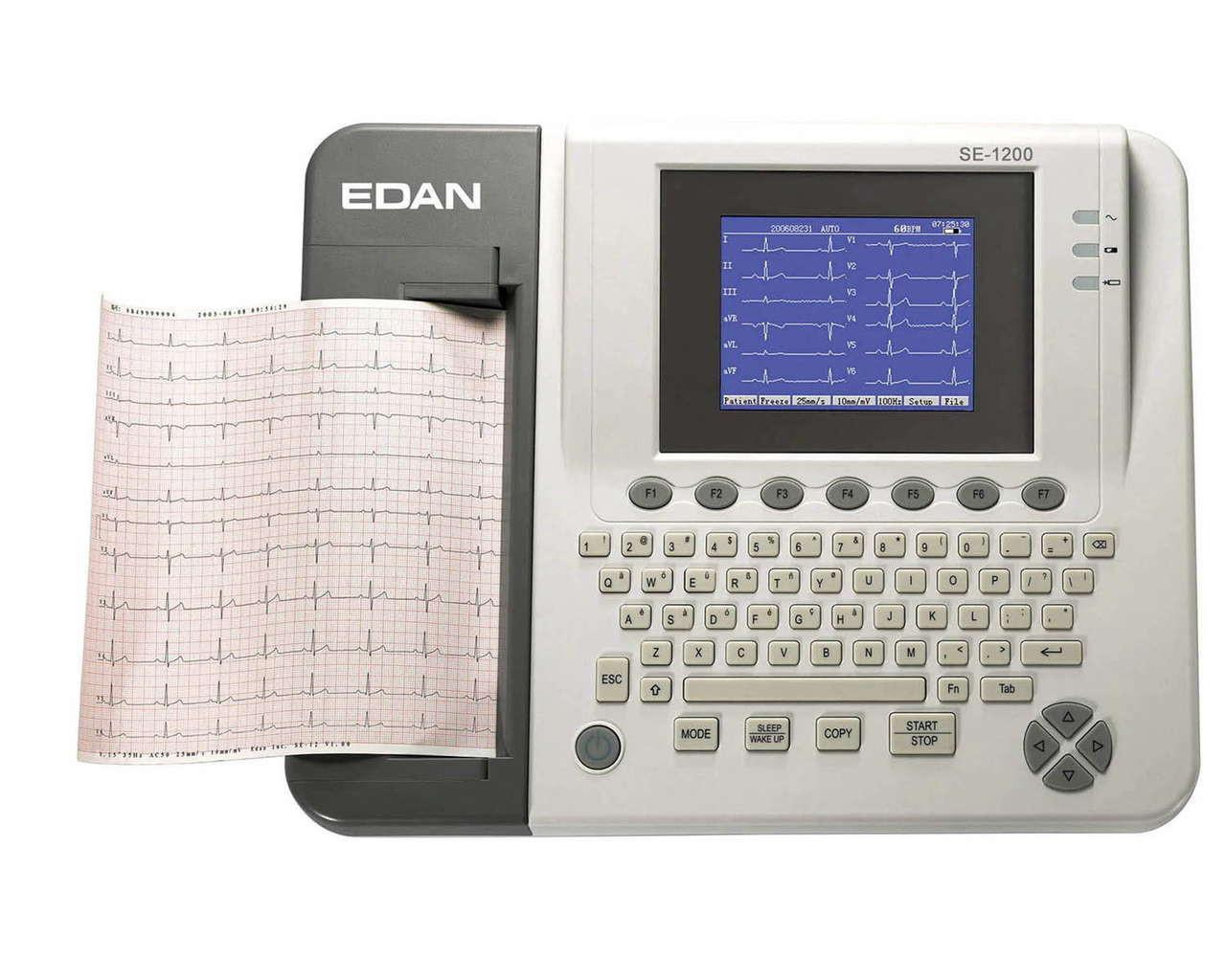 Edan SE-1200 ECG 12 channels