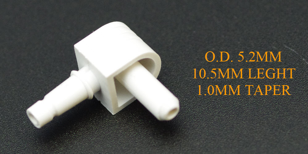 WHITE CUFF CONNECTOR FOR CONTEC 08A /08C DIGITAL BP MONITOR