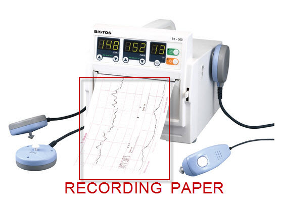 Z-fold Thermal paper for Bistos BT-300 fetal monitor