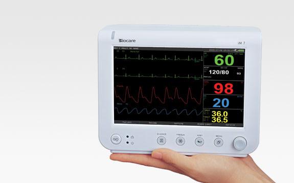 iM7 Biocare VET veterinary monitor w/NIBP,SPO2, ECG , Temp