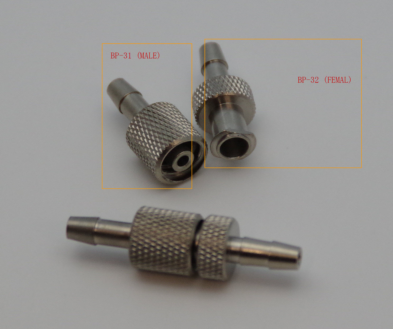METAL hose connector FOR COLIN MONITOR (BP-32) FEMALE