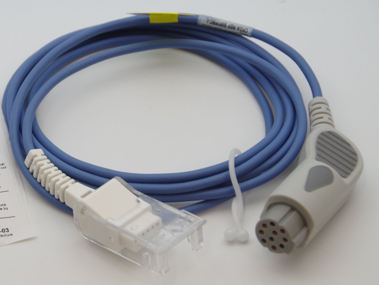 Spo2 cable compatible with DATEX-OHMEDA S5 USING DATEX-OHMEDA SENSOR