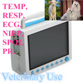 CMS8000 VETERINARY MONITOR , NIBP, SPO2 , ECG , RESP , TEMP