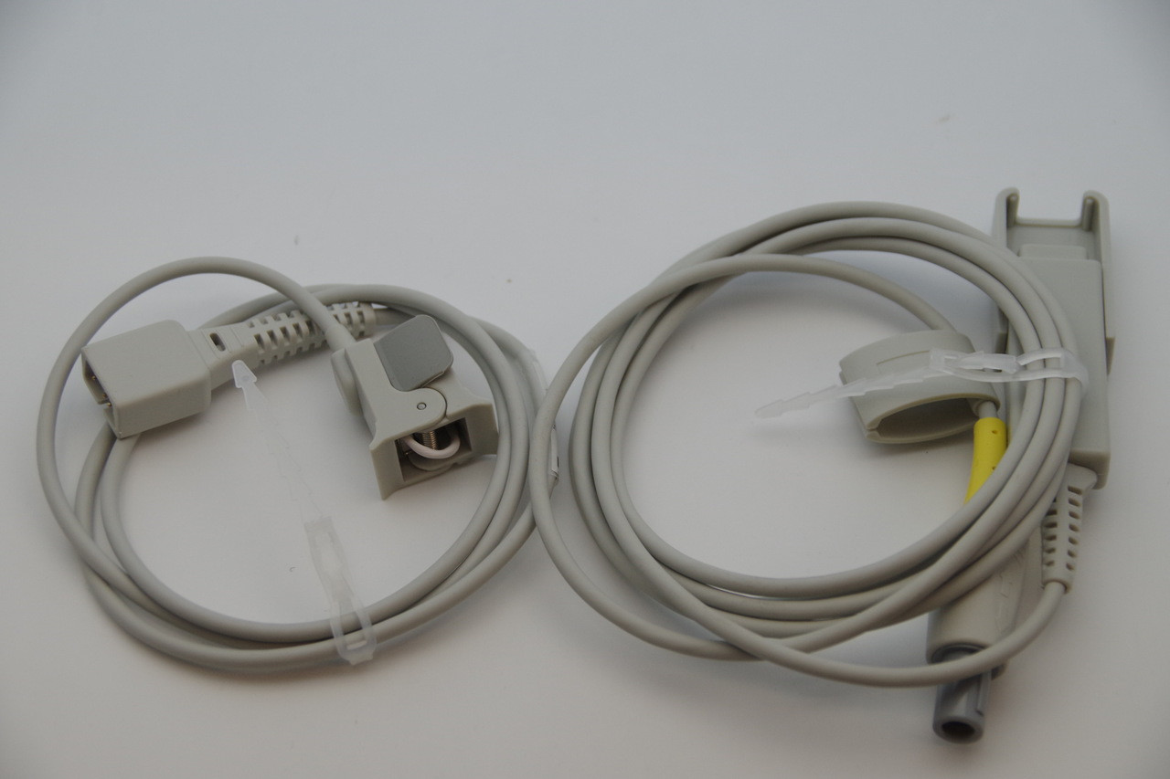 Pediatric Finger tip Clip Spo2 Sensor with extension cable for Contec PM-50 PATIENT MONITOR