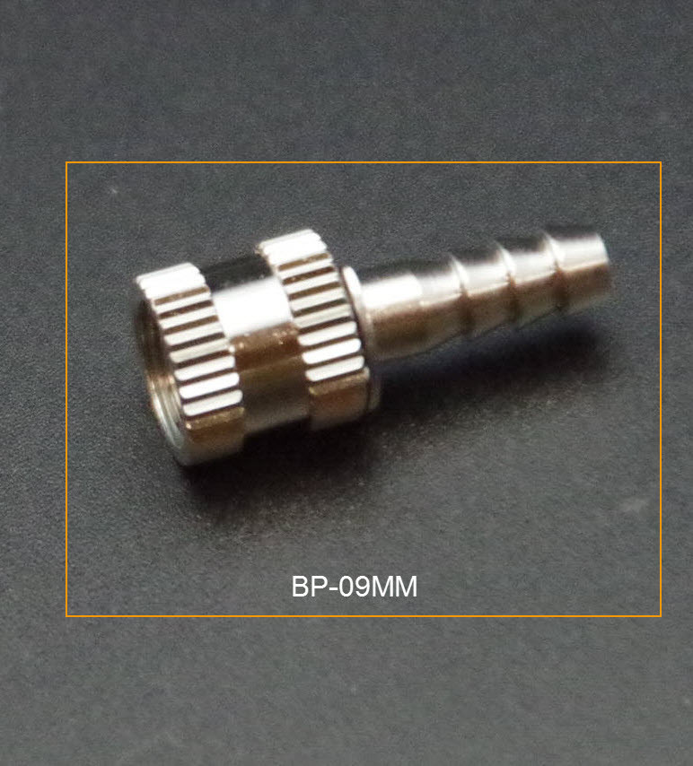 metal hose connector ,GE-Critikon Invivo, Kontron, Nihon Kohden (BP-09-MM) for metal female conneconter bp-08m