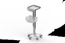 ecg machine trolley, laptop trolley
