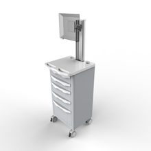 nurse trolley, with drawer