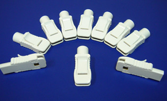 Pack of 10 ECG ELETRODES ADAPTER CLIP FOR BOTH SNAP AND TAB ELECTRODES, 4MM BANANA PIN TO TAB OR SNAP ELECTRODES