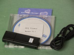 PC viewer software with cable for Easy ECG monitor PC-80A, PC-80B