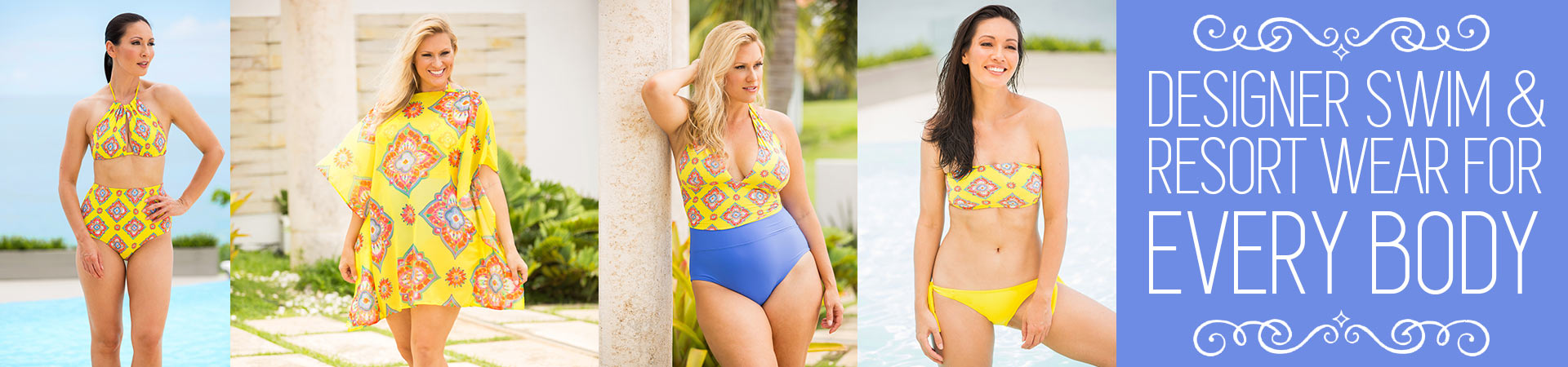Designer swim separates from Tara Grinna.