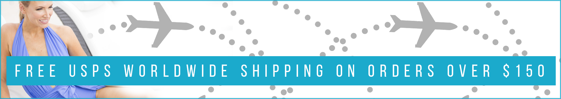 Free Worldwide Shipping Available for Orders Over $150
