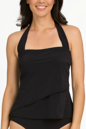 Black Tankini Loose Fit FT-150