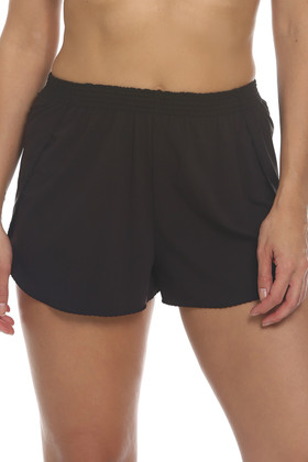 Brown Shorts Cover Up BR-461