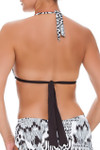 Brown and Ivory Slider Halter CM-134