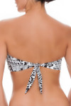Brown and Ivory Bandeau CM-136