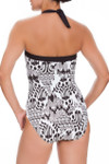 Brown and Ivory One Piece CM-328