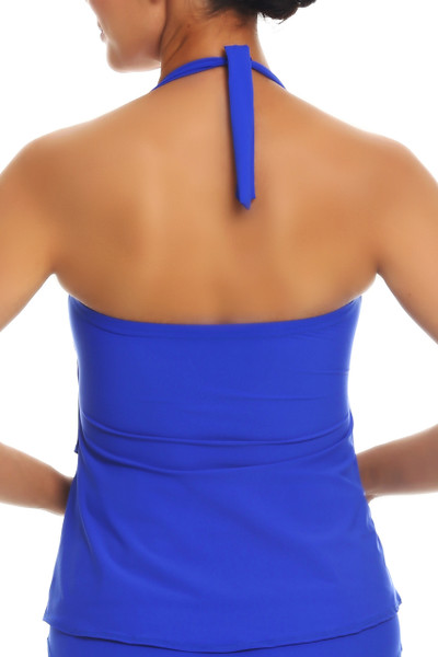 Blue Tankini Loose Fit RY-150