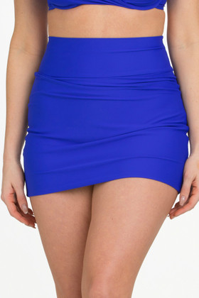Blue Skirted Pant RY-253