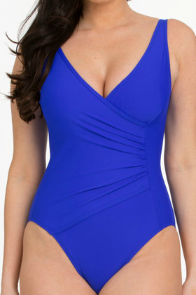 Blue Surplice Maillot RY-313