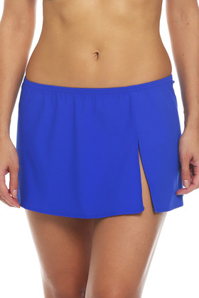 Blue Skirted Cover Up RY-412