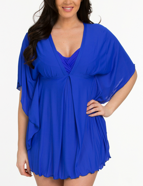 Blue Kaftan Cover Up RY-417