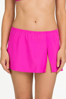 Pink Skirted Cover Up CA-412