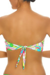 Floral Molded Cups Bandeau RA-136