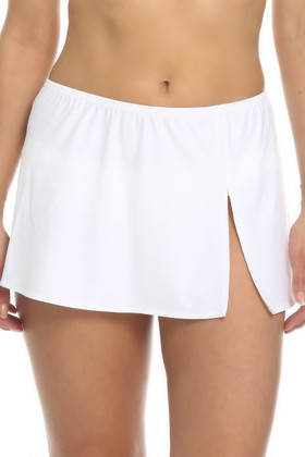 White Skirted Cover Up ND-412