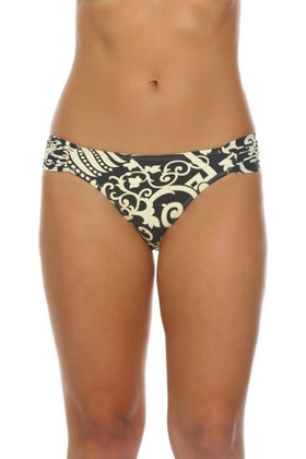 Gray and Bone Bikini Bottom WH-258