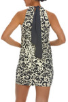 Gray and Bone Dress Cover Up WH-409