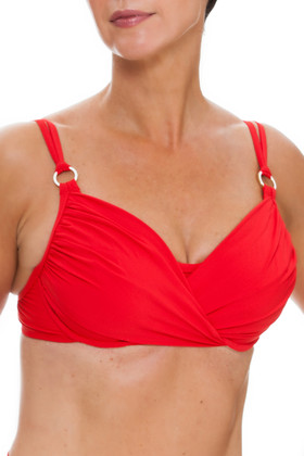 Red Underwire Cup Sized Top RE-142