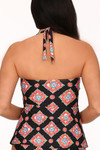 Black and Coral Tankini MK-150
