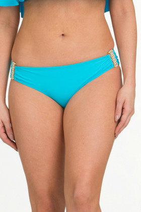 Turquoise Blue Hipster Pant TU-236