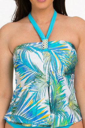 Aguadilla Loose Fit Tankini AU-144