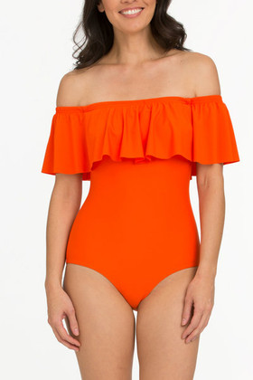 Tangerine Flounce One Piece TN-325