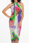 Isabella Full Panel Pareo Cover Up IS-406