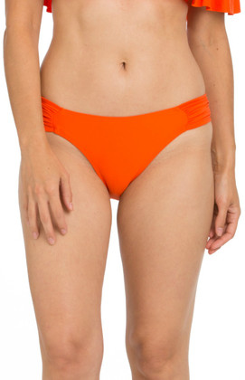 Tangerine Ruched Tab Side Bikini Bottom TN-258