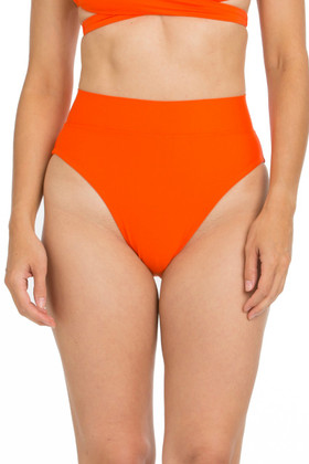 Tangerine High Leg Bottom with Waistband TN-204