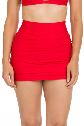 Red Skirted Pant RE-253