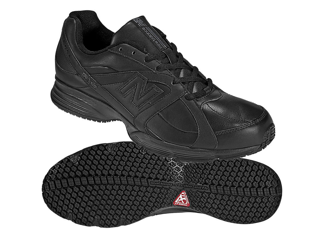 31e70db11e10d Loading zoom. New Balance MW512BK Black. This is a very confortable slip  resistant shoe for work or