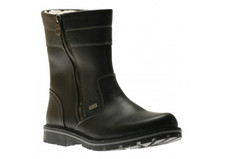 Rieker 37761-00 Black 2 Zip Boot. The Rieker 37761-00, Black boots are made of waterproof grain leather, real wool lining and they are real warm compared to other boots which are orlon-pile lined (synthetic) Real wool keeps it's natural bounce and doesn't go flat like orlon-pile.