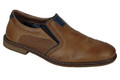 Rieker 13454-25 Mens Toffee Slip On