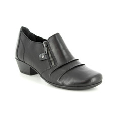 Remonte D7310-01 Womens Black Leather Casual