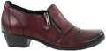 Remonte D7310-35 Wine Womens Leather Casual